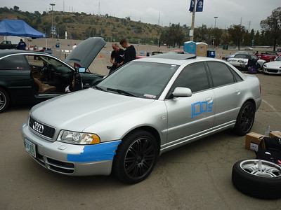 Autocross at the Q