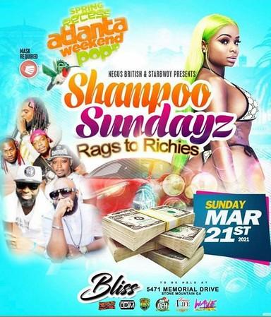 SHAMPOO SUNDAYZ RAGS TO RICHES