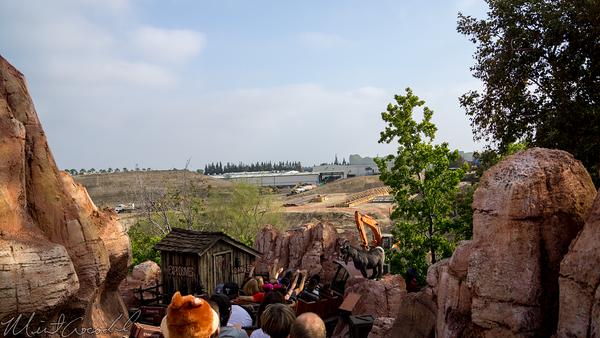 Disneyland Resort, Disneyland, Frontierland, Big, Thunder, Mountain, Railroad, Star, Wars, Star Wars, Land, Construction, Trail, Ranch, Jamboree