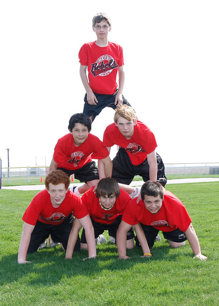 SNMS Track Team 2008