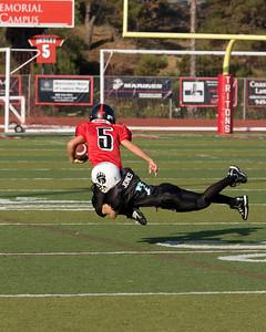Saddleback vs SC football
