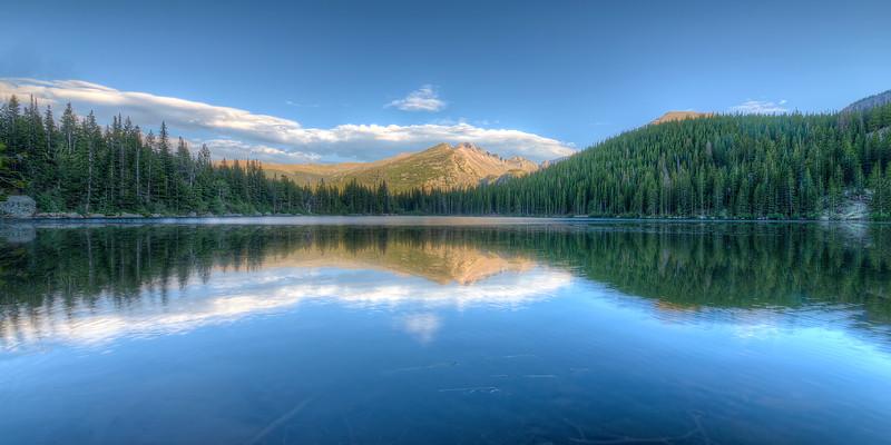 Bear Lake in Rocky Mountain National Park 2x1