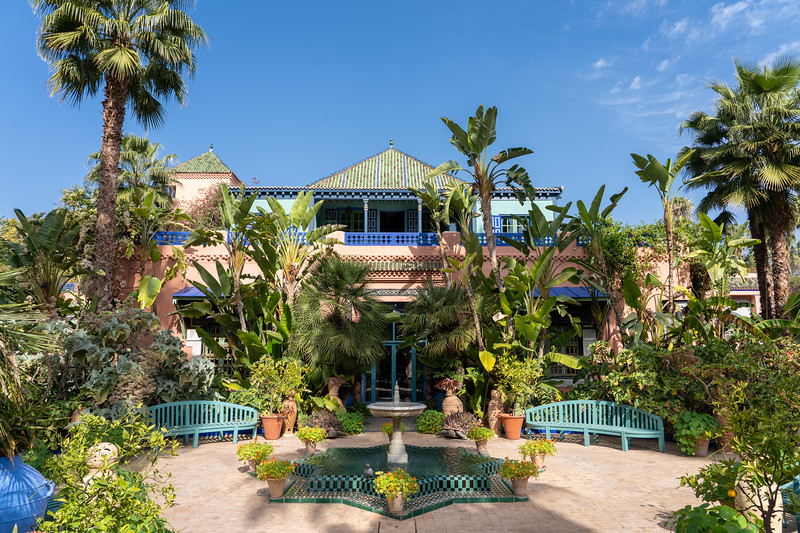 Jardin Majorelle in Marrakech, Morocco