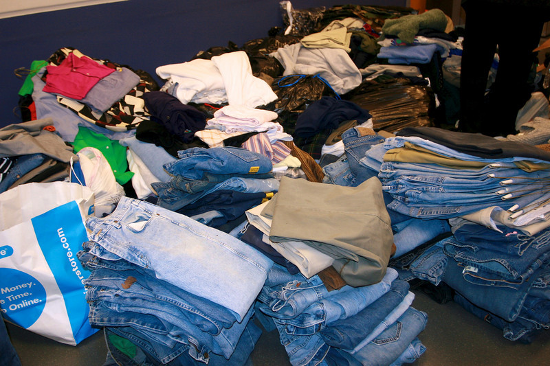 We asked for blue jeans, and all of this came in today!.jpg