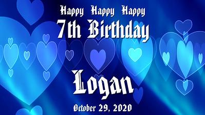Logan is 7