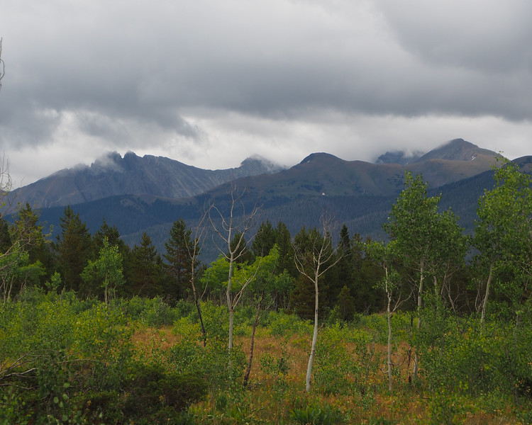 Mountains to East of Moose Visitor Center,  Walden, CO
