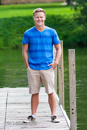 Senior Class Photos - Luke D - August 17, 2016