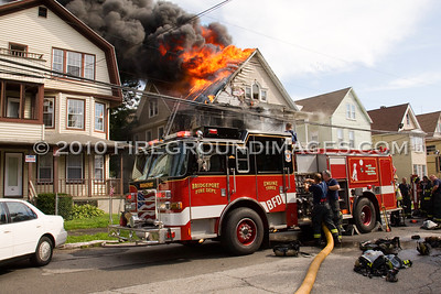 Elmwood Ave. Fire (Bridgeport, CT) 7/24/10