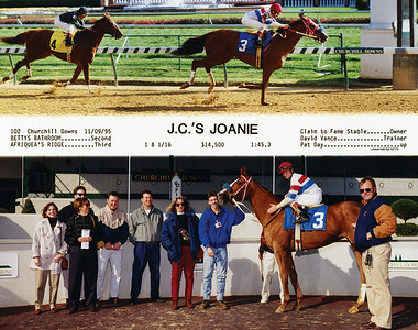 J.C.'S JOANIE - 11/09/1995