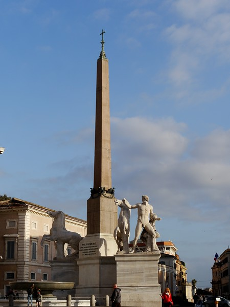 Obelisk on the Quirinal Hill
