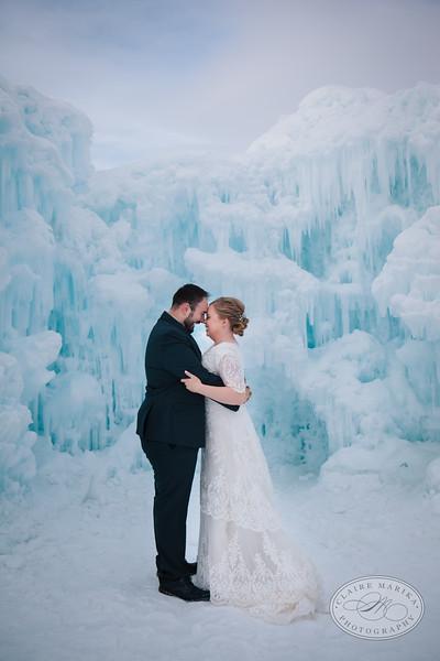 Lauren and David Bridals