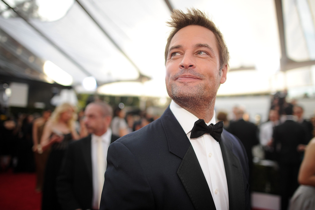 . Josh Holloway on the red carpet at the 20th Annual Screen Actors Guild Awards  at the Shrine Auditorium in Los Angeles, California on Saturday January 18, 2014 (Photo by Hans Gutknecht / Los Angeles Daily News)