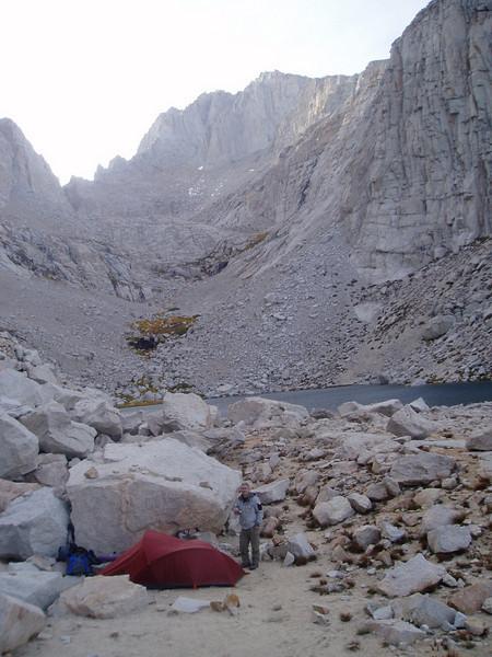 Camp at Upper Boy Scout Lake