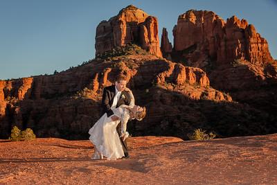 Debora & Gabriel's Sedona Wedding