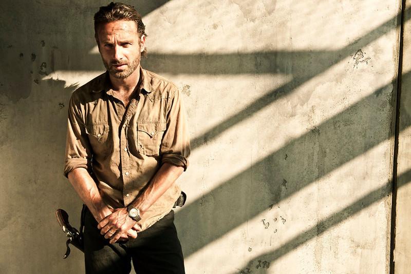 . Rick Grimes (Andrew Lincoln) - The Walking Dead -  PHoto Credit: Frank Ockenfels/AMC