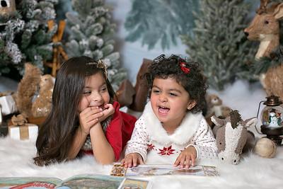 2016 Christmas Lila & Hannah