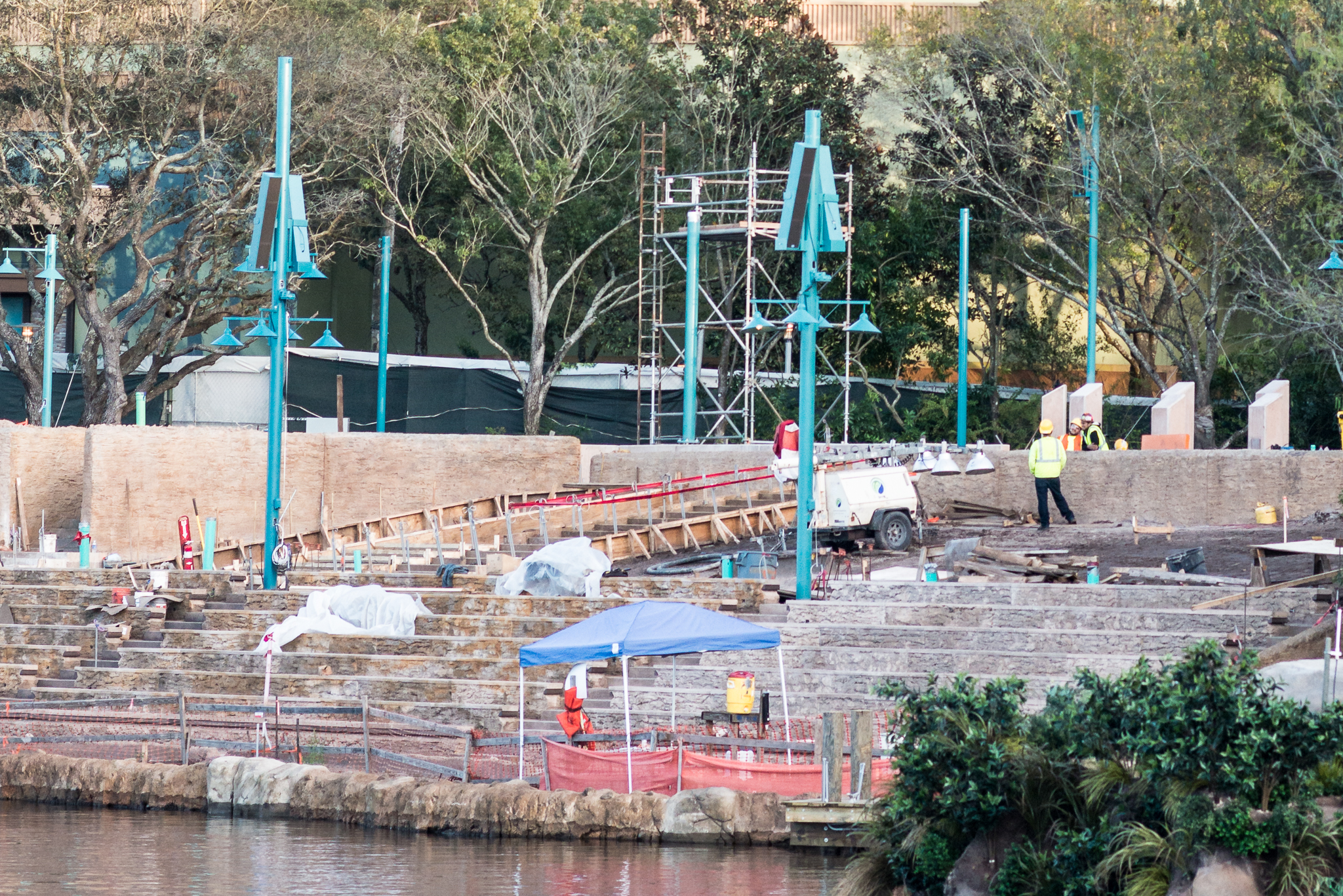 Rivers of Light Seating Area Right Side - Disney's Animal Kingdom