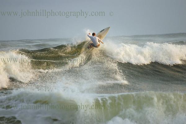 Hurricane Ike Surfing & Kite Surfing