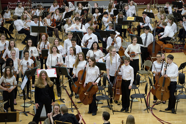 Northfield District Orchestra Concert 2018 March 22