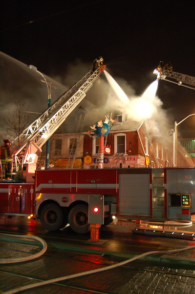 April 17, 2007 - 3rd Alarm - 368 Spadina Ave