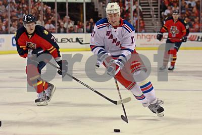 12/30/2011 - New York Rangers vs. Florida Panthers - Bank Atlantic Center, Sunrise, FL