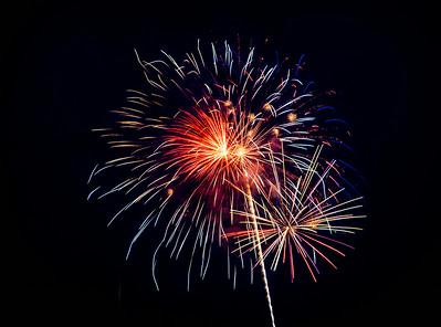 Austin fireworks 2014