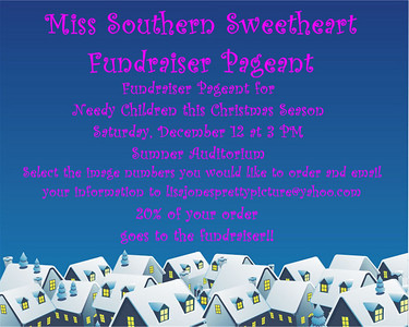 Miss Southern Sweetheart Fundraiser Pageant