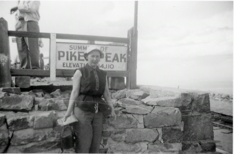 Evelyn (Wasson) Howell, Pikes Peak