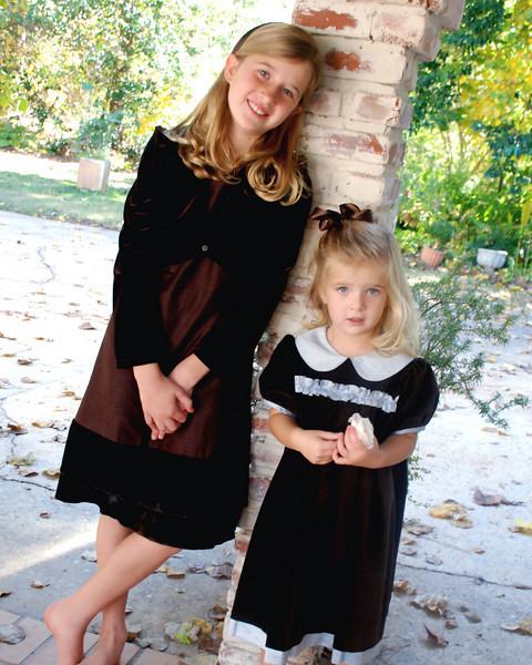 Elizabeth and Carryne