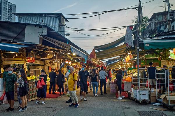 Yau Ma Tei Wholesale Fruit Market 果欄