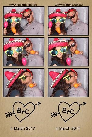 Chantelle & Brock's Engagement - 4 March 2017