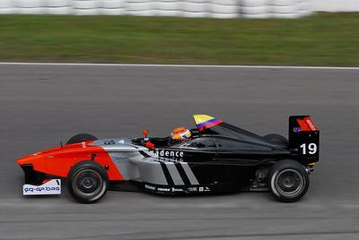 Formula BMW America's FInale at Mosport, August 2009