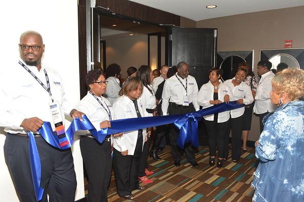 Ribbon Cutting with Vendors