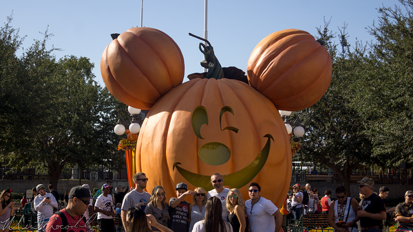 Disneyland Resort, Disneyland, Halloween, Main Street