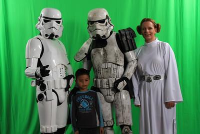 Starwars Weert 2009 Greenscreen