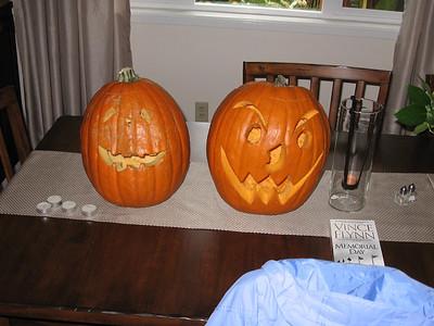 2008 halloween pumpkins