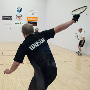 2014 Men's Doubles - 60/65/70+ Round Robin Don Benson / Phil Wheeler - W vs. Daniel Rodriguez / Wayne Toyne