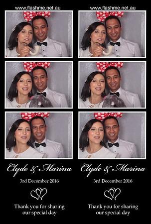 Clyde & Marina's Wedding - 3 December 2016