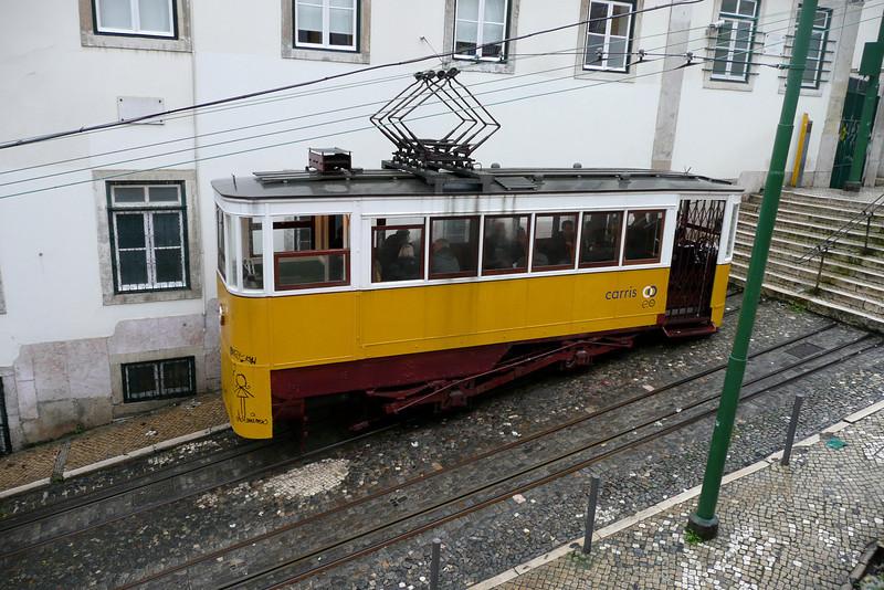 Funicular. Bairro Alto, Lisbon