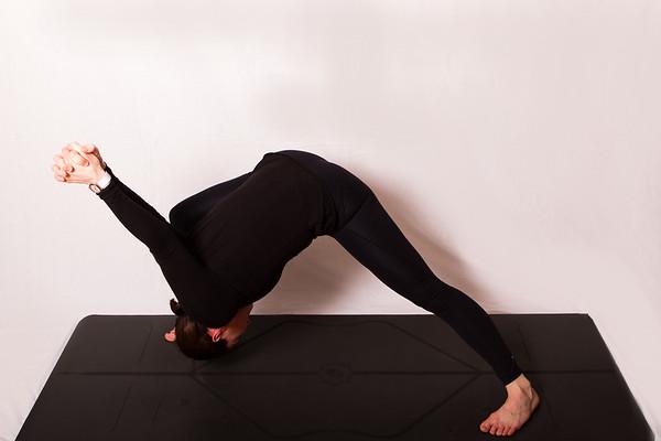 Yoga session with Sara