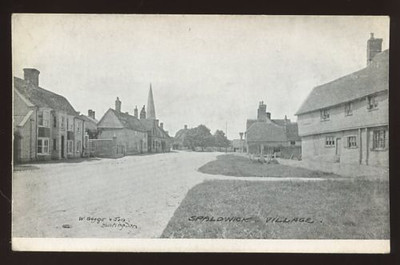 Old postcard of Spaldwick_6368598573_o.jpg
