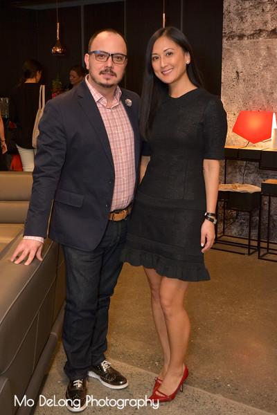 Mauricio Garcia and Hannah Kim