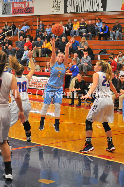 11-27-17 Sports Ayersville @ Patrick Henry Girls BB