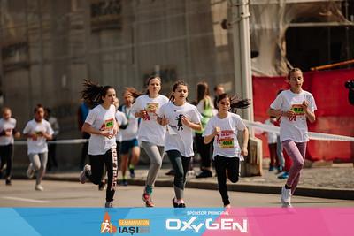 Cursa Fete 12-14 Ani - Semimaraton Iasi 2019