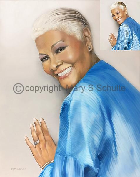 Dionne Warwick in Blue