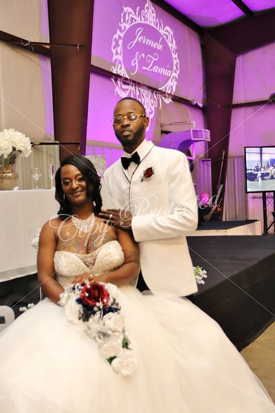 Jermele and Tamia Wedding
