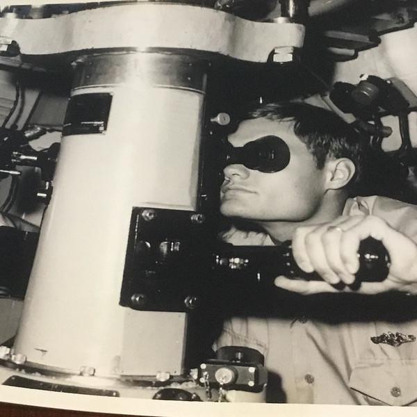 henry on USS Hawkbill 1978.jpg