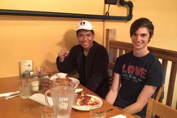 College Dinner Series 2015-16