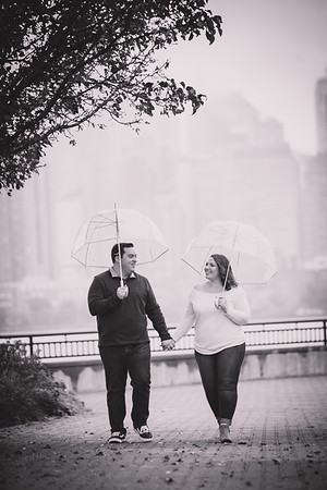 Brooke and Jordan - Liberty State Park