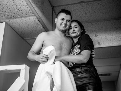 Trevor & Kaytlin Baptized